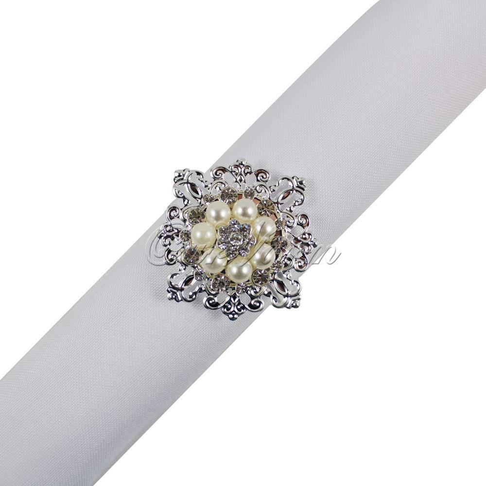 Кольцо для салфеток Ourwarm 4pcs CJH-GDZ-4 кольцо для салфеток quaeas aliexpress qn13030707