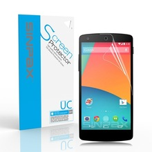 SINPAX High Clear Screen Protector For LG Nexus 5 E980 LCD HD Original Phone Screen Protective Film 3PCs With Retail Package