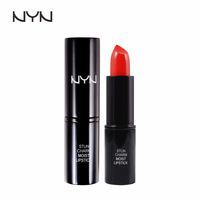 Color cosmetics wholesale authentic NYN stunning incarnate moist lipstick Lasting moisturizing moisturizing color is