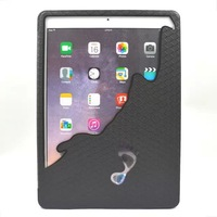New arrival Magnetic Smart Cover For Apple ipad Air 2 Case sleep and wake up Function Tablet Cases TPU + PU Leather Case