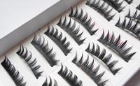 10 Pairs Taiwan False Eyelashes Hand Made Natural Long Thick Voluminous Fake Eye Lashes Maquiagem Professional Make Up Tools