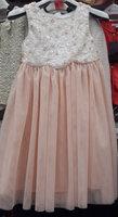 New 2015 summer good quality kids Beaded three-dimensional flower dress  6pcs/lot