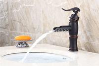 Single Handle Oil Rubbed Bronze Bathroom Basin Faucet Black color Mixer Wash Basin Faucets,Mixers & TapsY-969