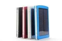 Mobile power supply 10000mAH Energy saving Solar Charger 2 Port External Battery Pack Power Bank For Cellphone External battery