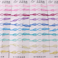 Free Shipping New Wholesale 10pcs/lot Card Mix Colour Hair Pin Clips Grips Women Girls Accessories For Hair Fashion Jewelry