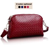 2015 Vintage Women Bag Leather Women Handbag New Women Messenger Bags With Knitting Pattern Genuine Leather Bag HB-235