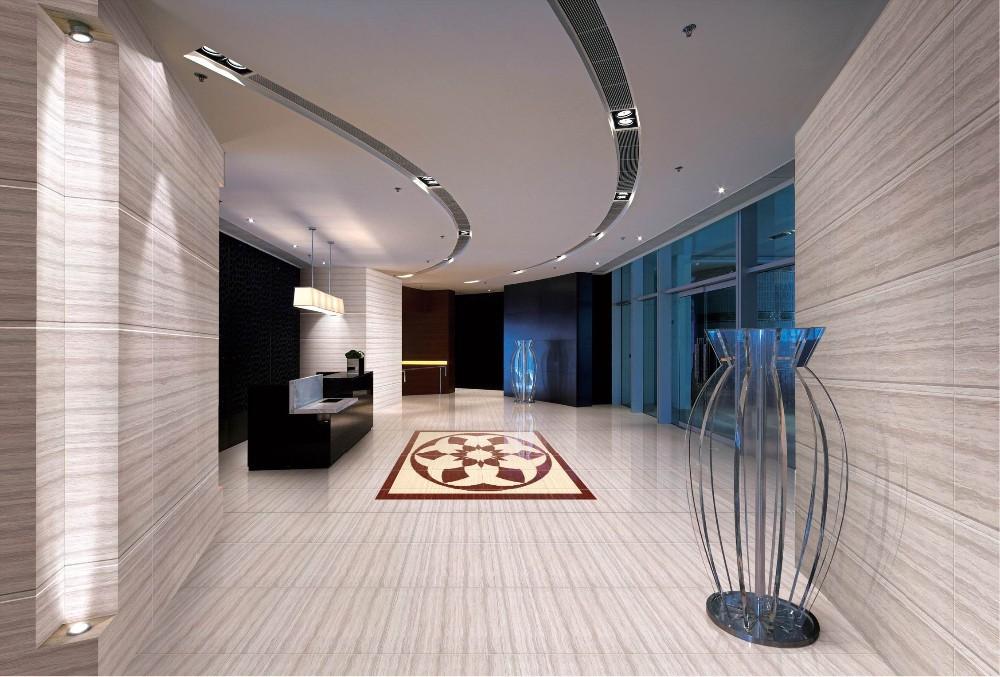 2015 Porcelain Polished Floor Tiles with nano 800X800MM LuBan LineStone 8N04C