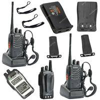 2x BAOFENG BF-888S UHF 400-470MHz 5W 16CH Ham Two-way Radio Walkie Talkie  ON0402