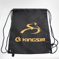 Kingsir waterproof ride helmet eco-friendly storage bag drawstring backpack double-shoulder ride backpack tote Bicycle backpack