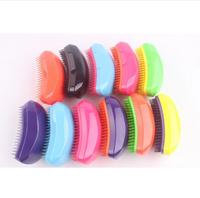 Free shipping Hot Selling Salon Hair Brush Detangling Hair Comb 100pieces