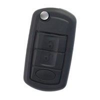New Replacement Flip Folding 3 Buttons Remote Key Shell Case Cover Fob For Land Rover Range Rover 2007-2010 Free Shipping