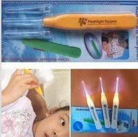 2pcs/lot Ear Cleaner & Flashlight Earpick & Lighting earpick For Promotion