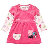 Girl summer dress peppa pig clothing kids tutu dress girls dresses princess costume spring Autumn baby wear cotton clothes HA094