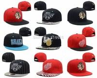 Ice Hockey sport Snapback hats men and womens classic adjustable gorras bones baseball caps