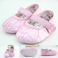 Hot new Pink sweet lovely antislip baby girl shoe fashion cute baby girl shoes baby first walker shoes for 2015