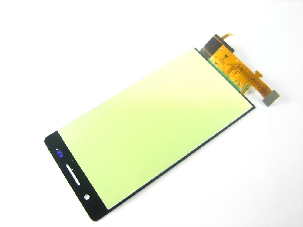 Замена полный жк-дисплей + сенсорный экран планшета для Huawei Ascend P6 белый kavaro plated slim plastic case for iphone 6s 6 lacework gold