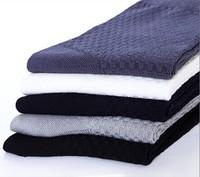 New Fashion Men's Sock  Business Socks Thin Dress Men Socks Diamond Combed  Bamboo Fiber 10pairs/lot NFAB062