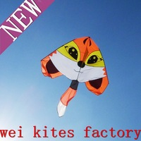 free shipping high quality squirrel kites with handle line easy flying higher lines kitesurf  weifang kites factory wei kite toy