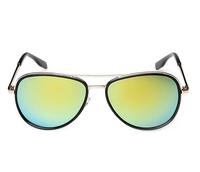 T14122406, Tianluse, 1Pair/lot, New Vintage Sunblock Metal Frame Colorful Film PC Lens UV Proof Shine Sunglasses , Free Shipping