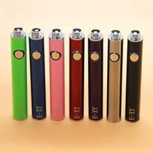 Hot Mini EGO e smart e-smart 808 thread 320mah battery Suit for 808 thread atomizer e-smart electronic cigarette colorful
