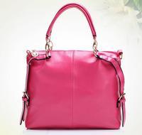 Motorcycle Bags for Women Leather Handbags Famous Brand Design Bucket Shoulder Bags British Style Bolsas Vintage Messenger Bag