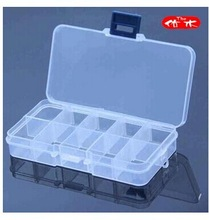 3311 receive a case 10 removable Transparent make-up box(China (Mainland))