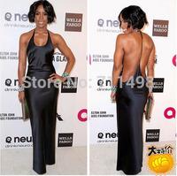 2015 Sexy Party Bodycon Bandage Dress Vestidos De Festa Women Backless Black Dress Fashion Winter Maxi Dresses