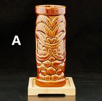 2014 Home Decoration Tiki Mug Ceramic Cup Hot Sale Beer Cup Coffee Mug Tiki Cup Ceramic Crafts