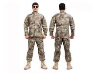 Mens BDU Set Ruins camouflage suit special forces combat uniforms equipment serving real CS Army fans clothing ruins AU