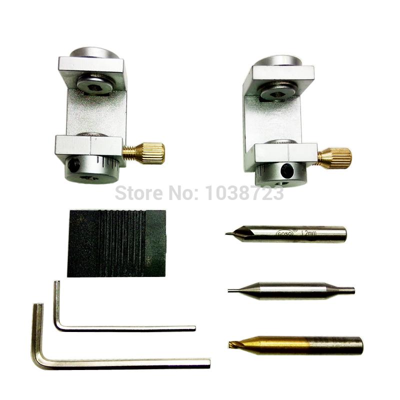 New Arrival Car Key Clamp Set for Ford Jaguar/Mondeo/Transit Auto Locksmith Tools Set of Key Key Copy Machine Part Fixture Tool(China (Mainland))