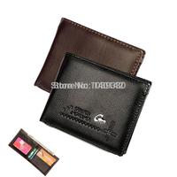 2014 New Fashion Brand Mens Wallet Classic Soild Pattern Designer Short Wallet Purse Men's Wallet Pockets Credit ID Cards Holder