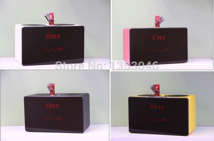 New Hight Quality Brand Name KR7600 remote control NFC Hifi Bluetooth Speaker FM digital U disk & TF card(China (Mainland))
