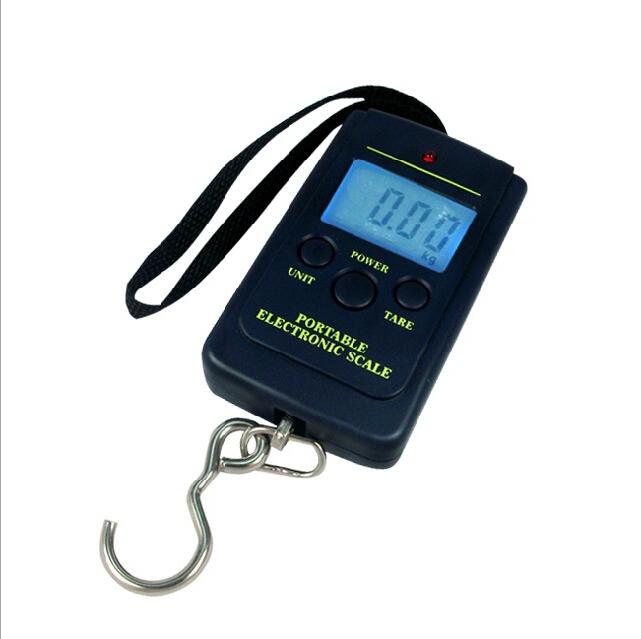 Available C-FXC Digital Handy Scales Luggage Fishing 40kg 88Lb Portable FIsh Partner Box 61066(China (Mainland))