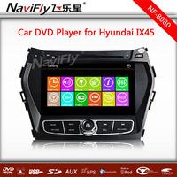 WIN8 menu Car DVD Player For Hyundai IX45 / Santa Fe 2013 With GPS Navigation Radio Bluetooth USB TV Stereo Audio Video