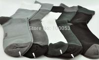 5 pairs/lot High Quality Bamboo Fiber Men's Cotton Breathable Socks Classic Business Brand Half Tube Socks Winter