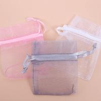 Fashion Hotsale Organza Pouch 600pcs/Lot Colorful Rectangle Gift Bags 7x5cm Fit Wedding&Festival&Party Decoration 120471