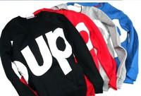 Free shipping The 2014 men/women plus fertilizer in spring and autumn O-Neck Sweater XL fat shirt coat large men's Korean tide T