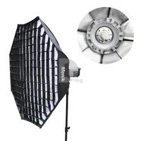 Menik SS-7 95cm Professional Octagon 95cm Photography Studio Grid Softbox For Speedlite Flash 331205019W Free Shipping