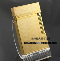 STDupont / Dupont lighters broke crisp golden classic brushed copper boutique