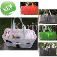 Free Shipping Wholesale High quality  Fashion Mammy Bag, Baby Diaper Nappy Bottle Storage Organizer Multi Bag
