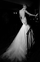 BF0426 Glamorous Lace Tulle Backless Wedding Dress Wedding Gown Bridal Dress Bridal Gown Pageant Dress