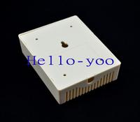 10pcs/lot 100x80x29mm DIY Electronic Case Plastic Project Box White Color Junction Enclosure Free Shipping