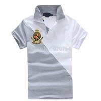 2014 New Fashion brand Short Sleeve Men Polo Ralph Men Cotton Casual Breathable Fitness Boss Men Polo Shirts #1022