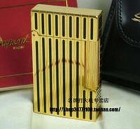 International Brand STDupont / Dupont lighters Lang sound broke the crisp golden vertical stripes