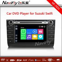New design 8'' HD touch screen Win 8 Menu Car DVD GPS navigation player for Suzuki Swift  with 1080p 10EQ BT free 4GB map card