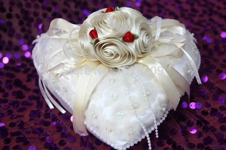 ... anneau de mariage fournitures de mariage de oreiller en soie fiable