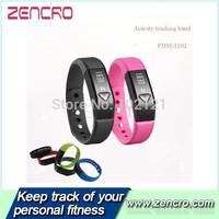 wireless activity smart wristband Bluetooth 4.0 pedometer pedometro com contador de caloria