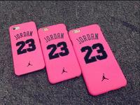 New 2015 High Quality Skin PC Pink Air Jordan Women Phone Cases For Apple iPhone 5 5s 6 6Plus Jordan 23 For Women Mobile Cover