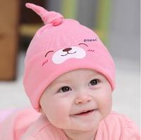 FreeShipping!New-mult-color-Cartoon-Baby-Toddlers-Cotton-comfort-Sleep-Cap-Headwear-Cute-Hat