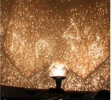 DIY Star Sky Astro Planetarium Star Celestial Constellation Projector Cosmos  Star Master Light Night Romantic Lamp(China (Mainland))